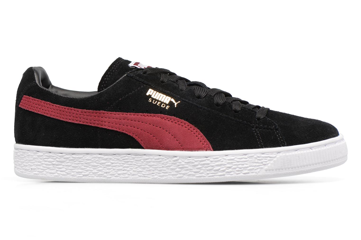 Trainers Puma Suede Classic Wn's Black back view