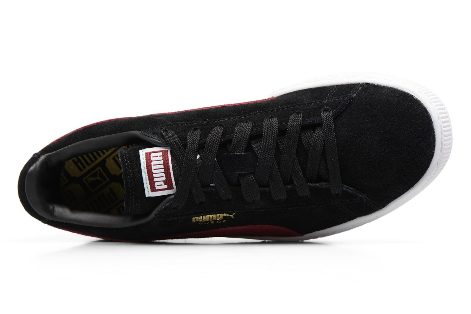 Trainers Puma Suede Classic Wn's Black view from the left
