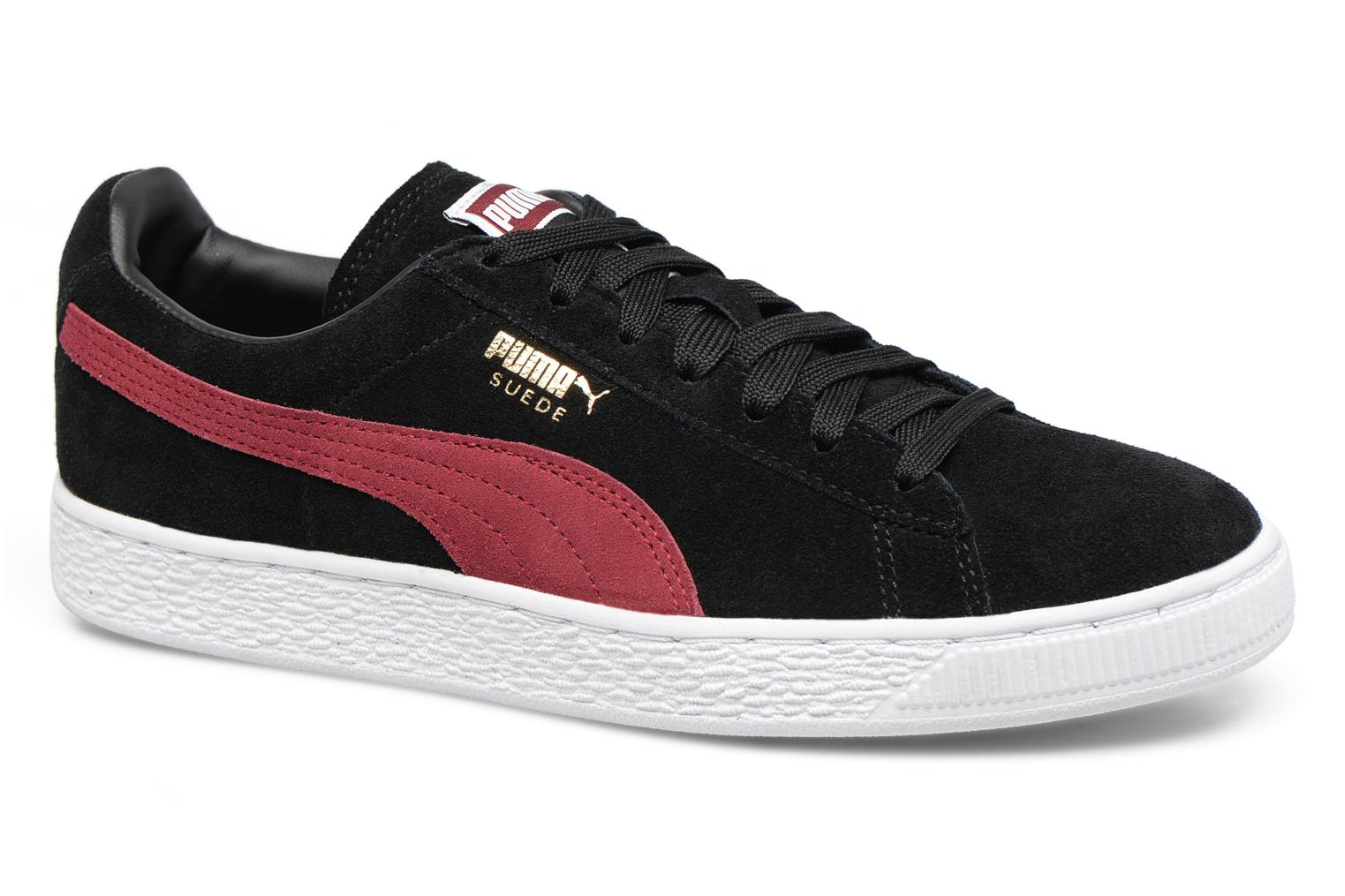 Trainers Puma Suede Classic Wn's Black detailed view/ Pair view