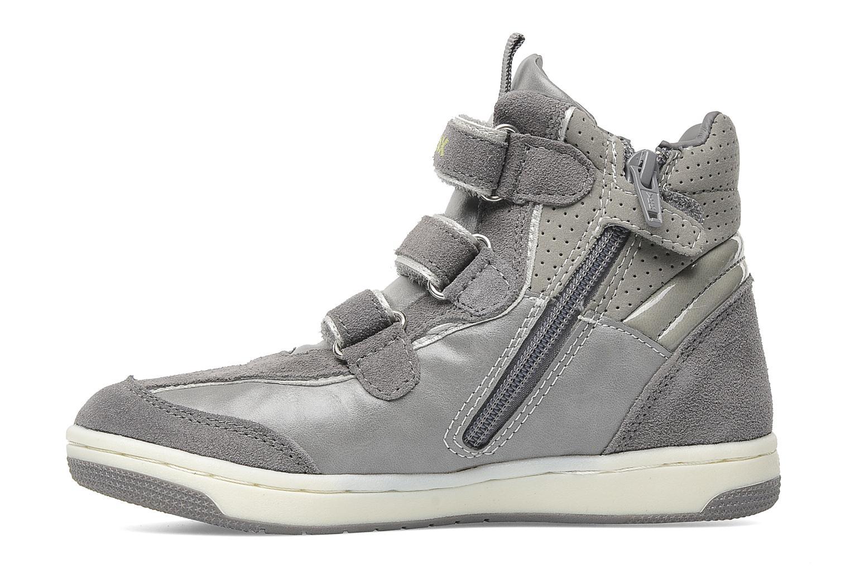 Sneaker Geox J CREAMY D grau ansicht von vorne