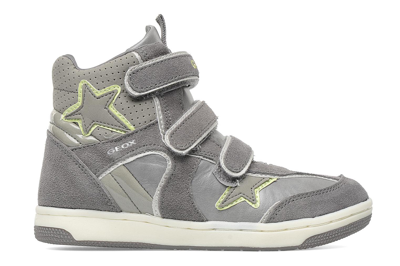 Sneaker Geox J CREAMY D grau ansicht von hinten