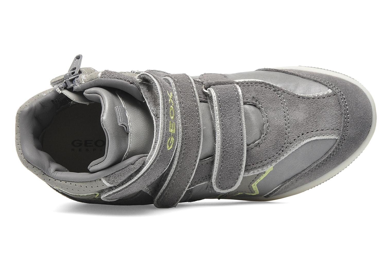 Sneaker Geox J CREAMY D grau ansicht von links