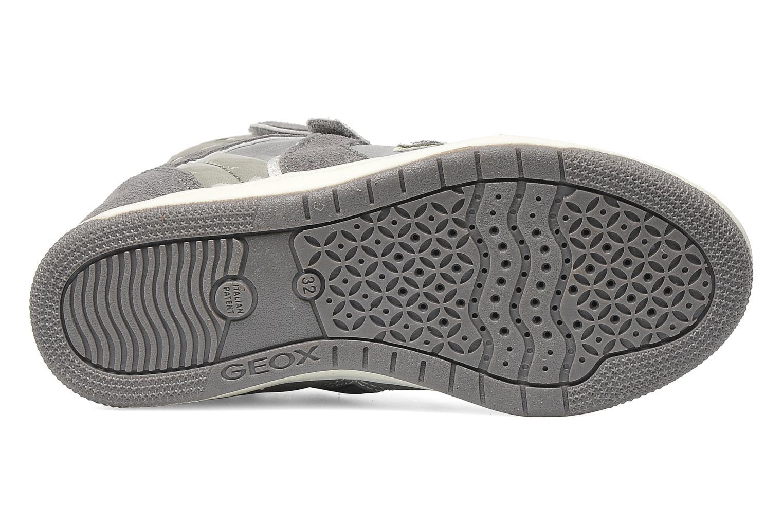 Sneaker Geox J CREAMY D grau ansicht von oben