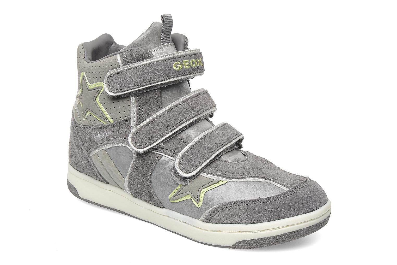 Sneakers Geox J CREAMY D Grijs detail