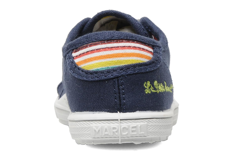 Sneakers Little Marcel Benikids Uni Blauw rechts