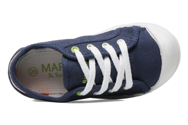 Sneakers Little Marcel Benikids Uni Blauw links