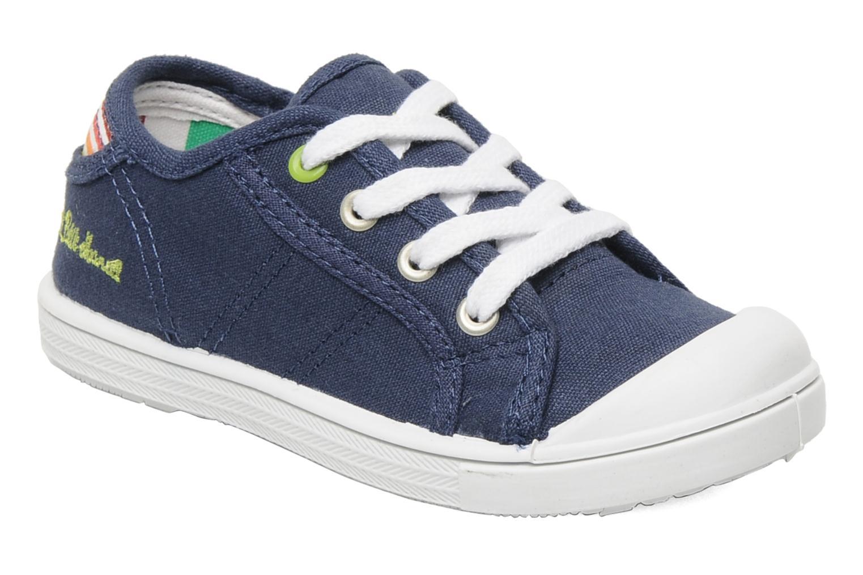 Sneakers Little Marcel Benikids Uni Blauw detail