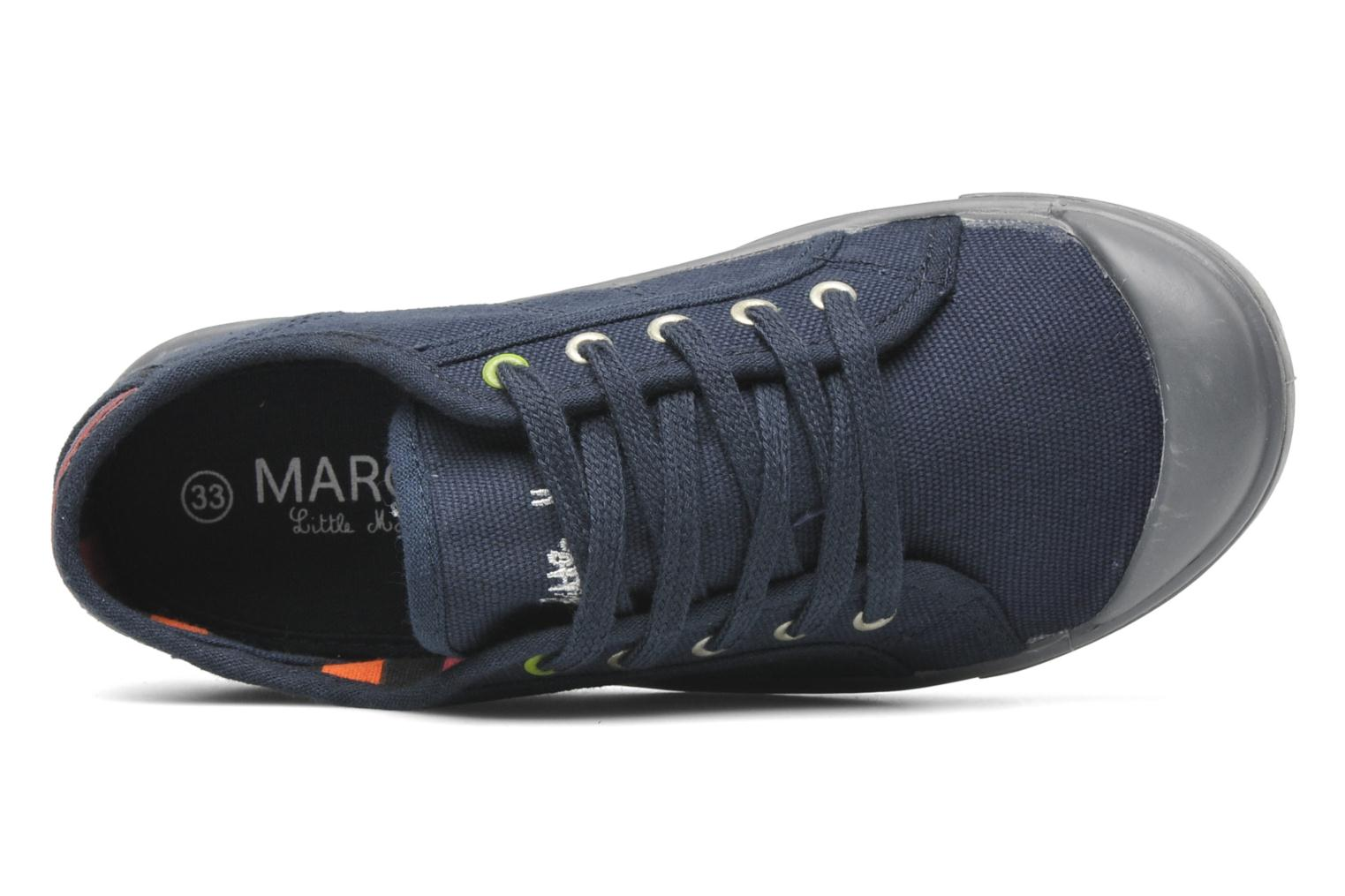 Sneakers Little Marcel Benikids Uni Blauw links