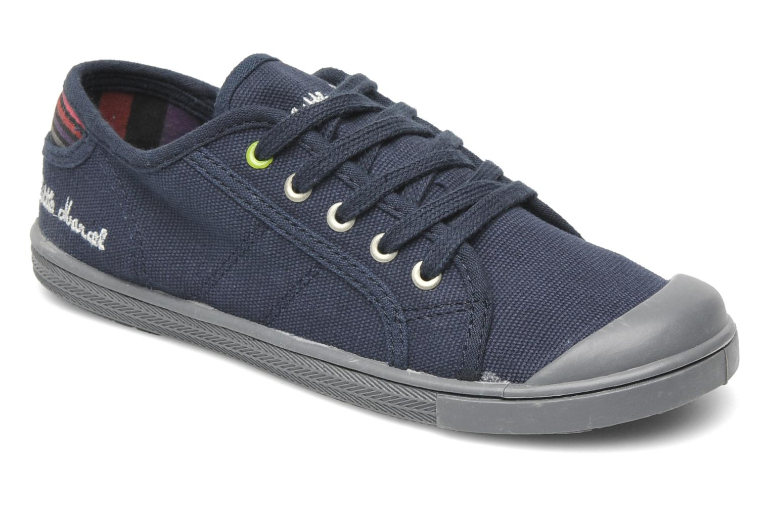 Sneakers Little Marcel Benikids Uni Blauw detail