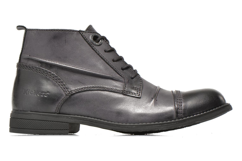 Chaussures à lacets Kickers MASSIMO Noir vue derrière