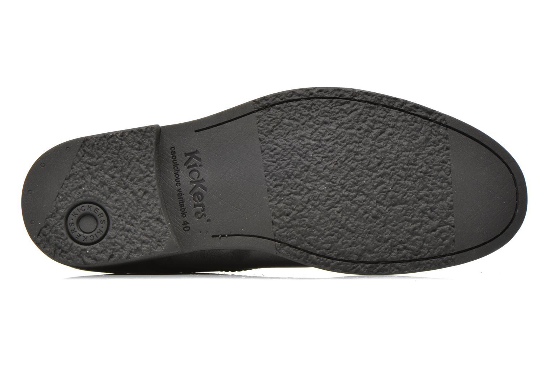 Snörade skor Kickers MASSIMO Svart bild från ovan