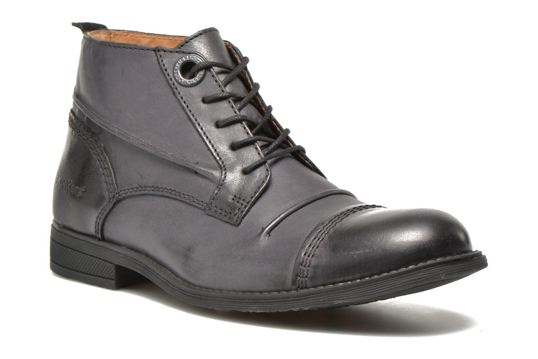 Chaussures à lacets Kickers MASSIMO Noir vue détail/paire