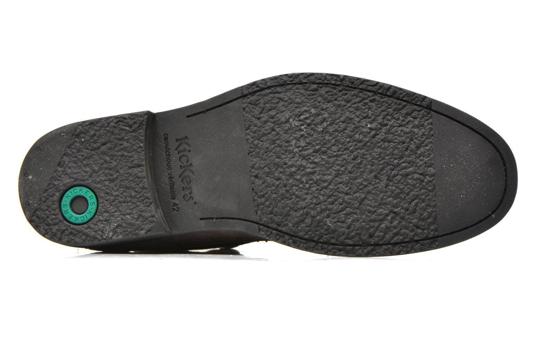 Snörade skor Kickers MASSIMO Grå bild från ovan