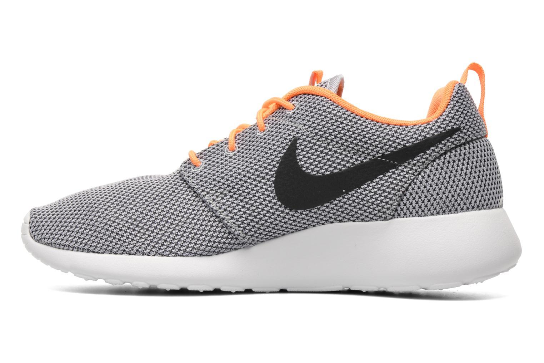 Nike Roshe One Wolf Grey/Black-Atmc Orange-White