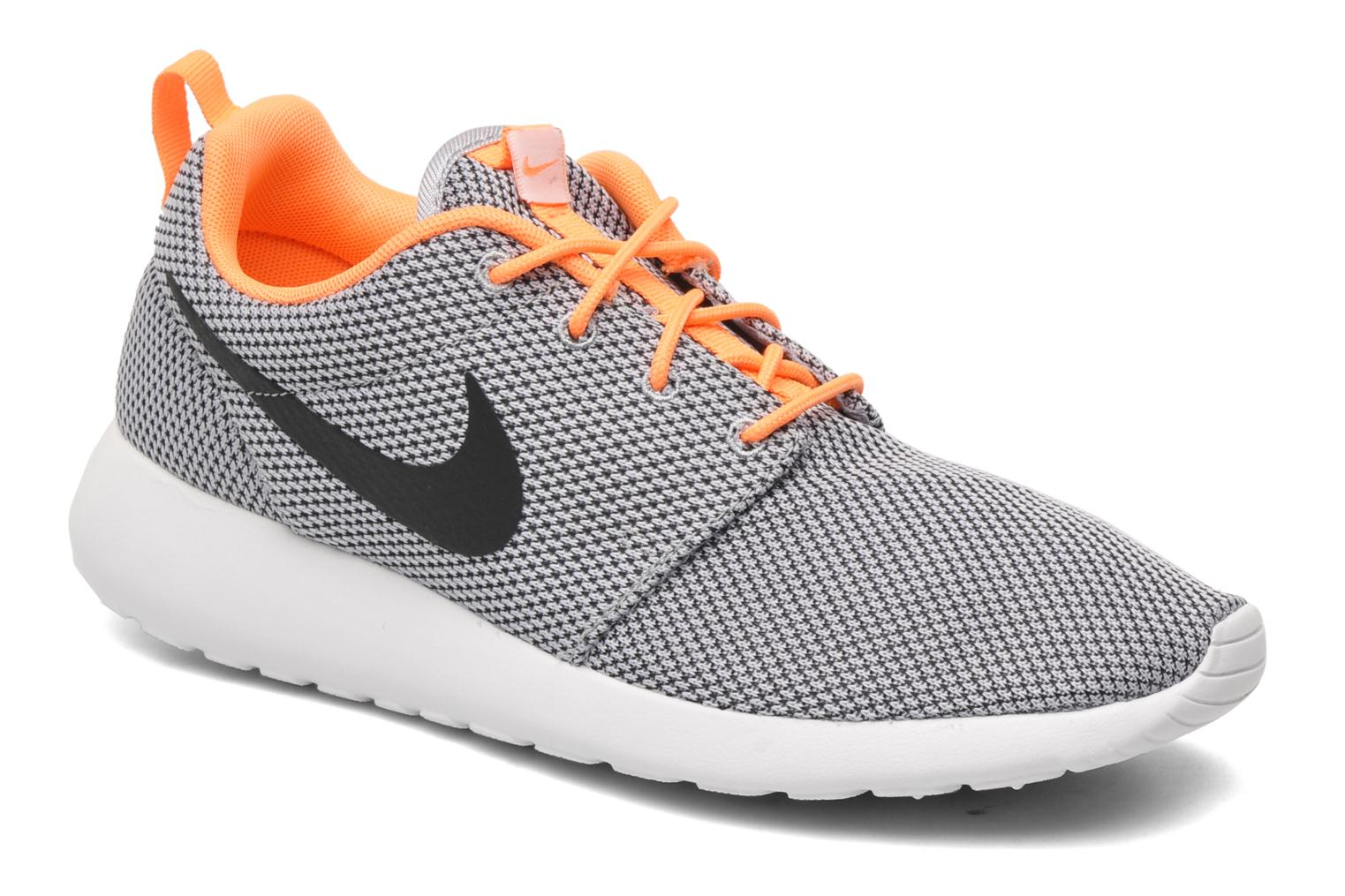 Nike Roshe One Wolf Grey/Black-Atmc Orange-White