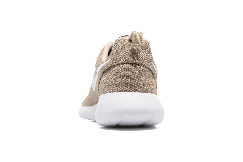 Baskets Nike Nike Roshe One Beige vue droite