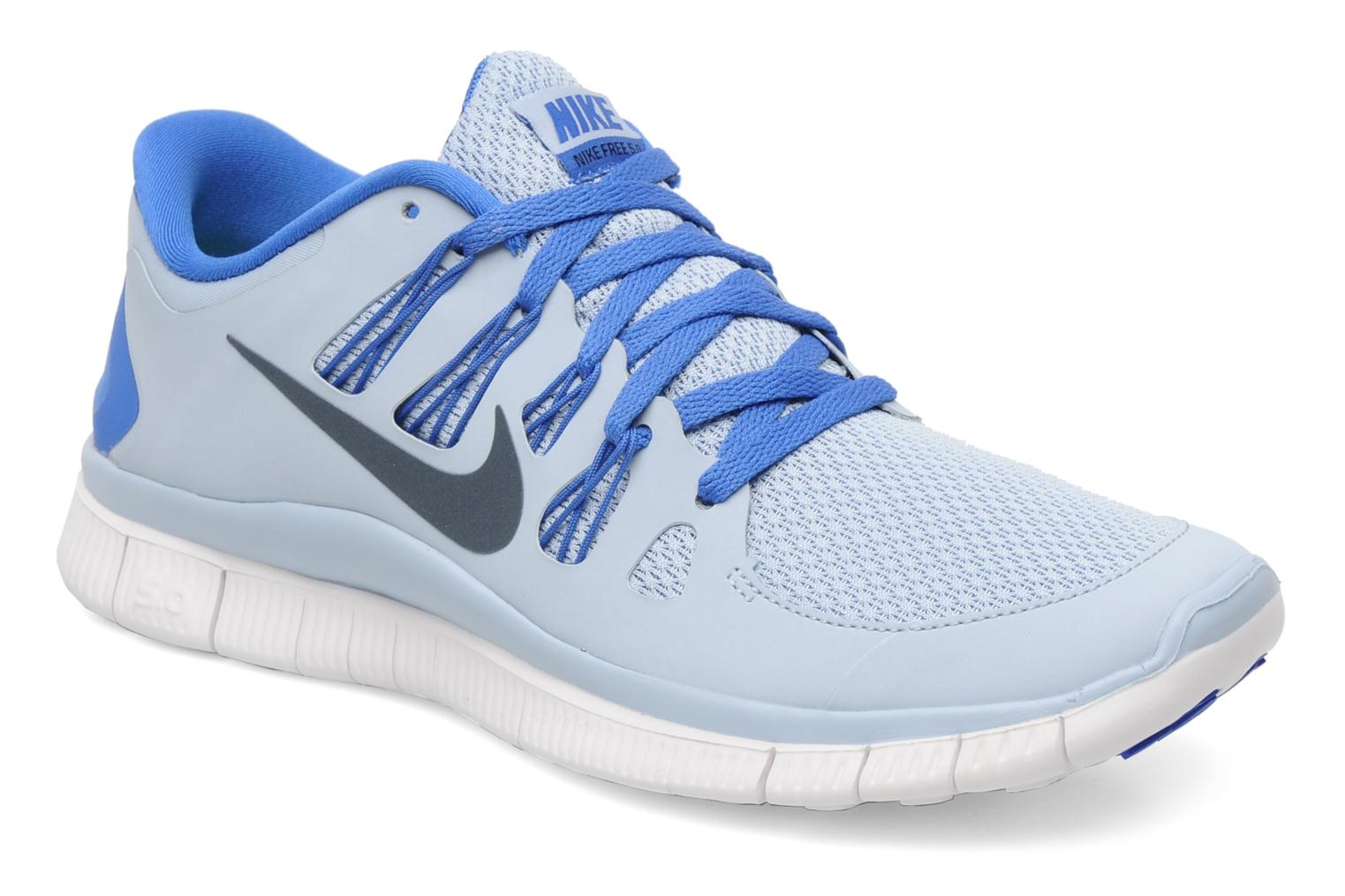 Sport shoes Nike Nike Free 5.0+ Blue detailed view/ Pair view