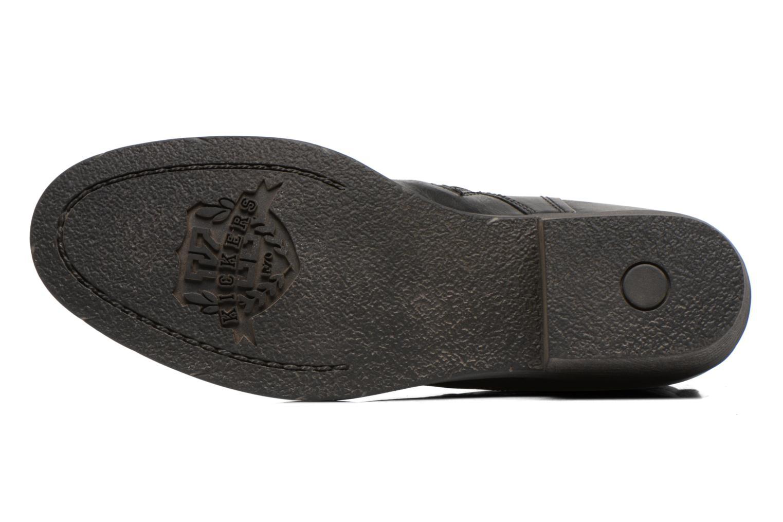 Bottines et boots Kickers ASTRALBIS Noir vue haut