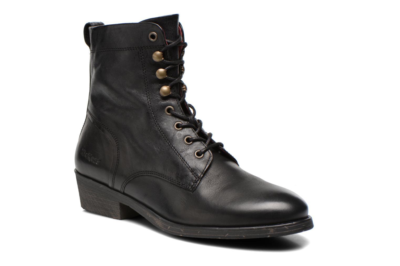 Bottines et boots Kickers ASTRALBIS Noir vue détail/paire