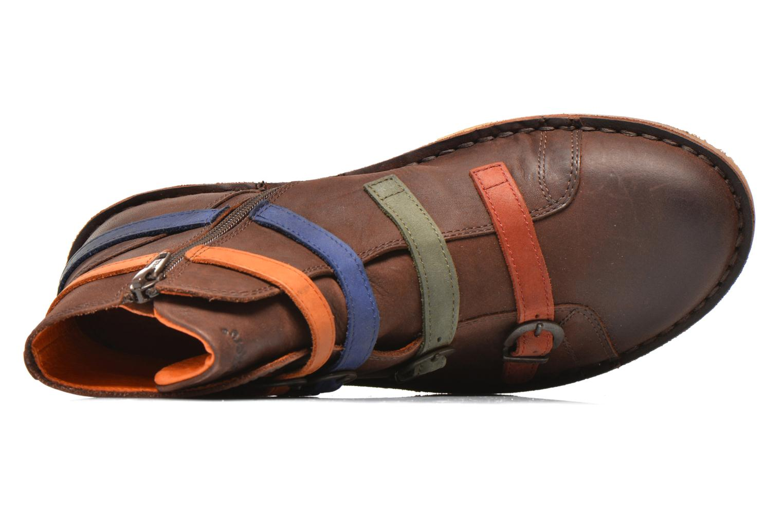 Bottines et boots Kickers WAXING Multicolore vue gauche