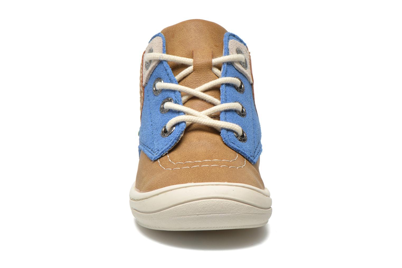 Sneakers Kickers ZELIG Marrone modello indossato