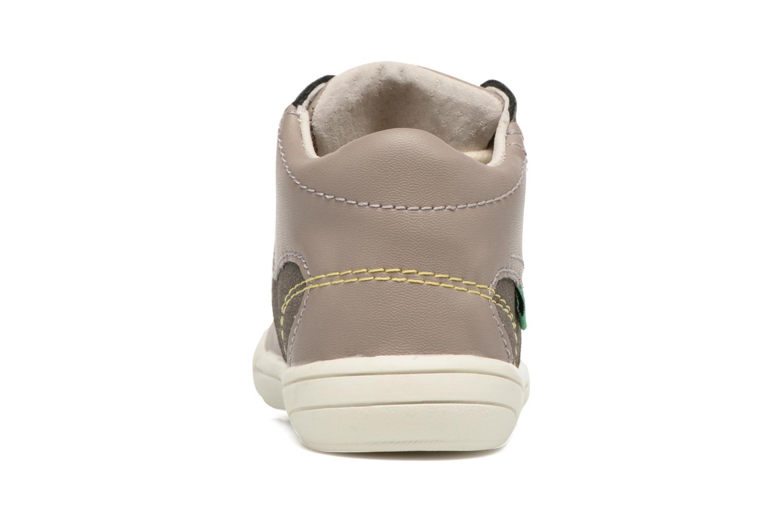 Sneakers Kickers ZELIG Marrone immagine destra