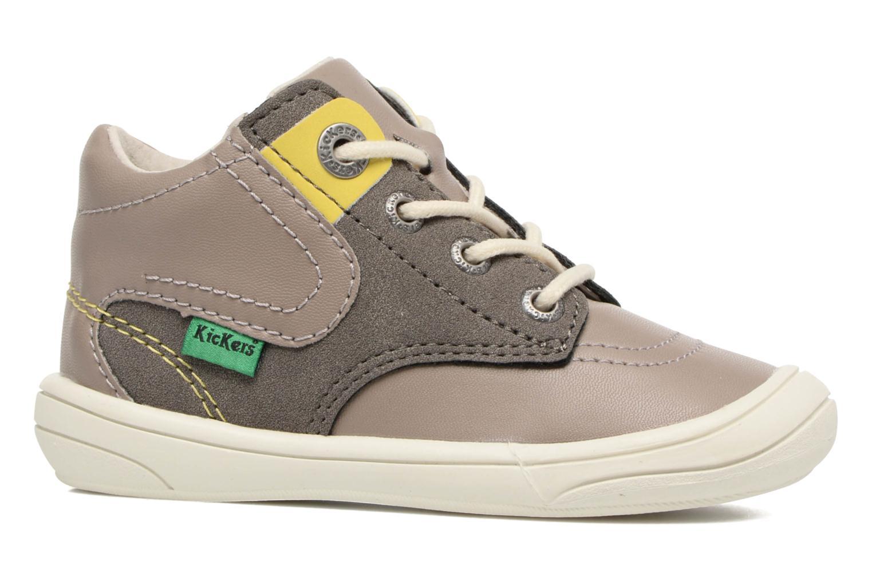 Sneakers Kickers ZELIG Brun se bagfra