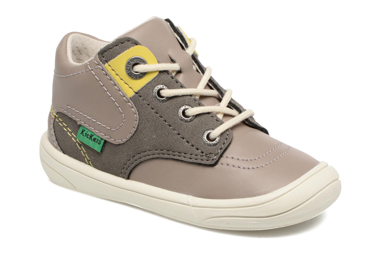 Sneakers Kickers ZELIG Brun detaljeret billede af skoene