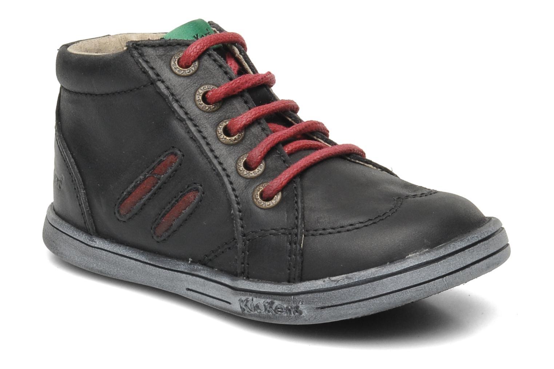 Ankelstøvler Kickers Tatoo Sort detaljeret billede af skoene