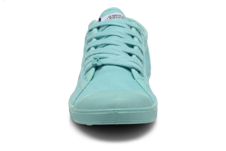 Baskets Le temps des cerises Basic 02 Mono Vert vue portées chaussures