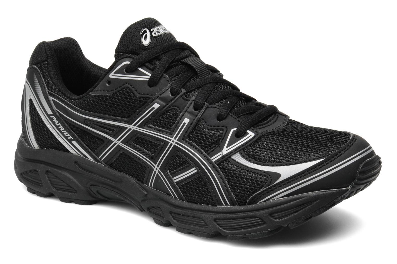 Chaussures de sport Asics Patriot 6 Noir vue détail/paire