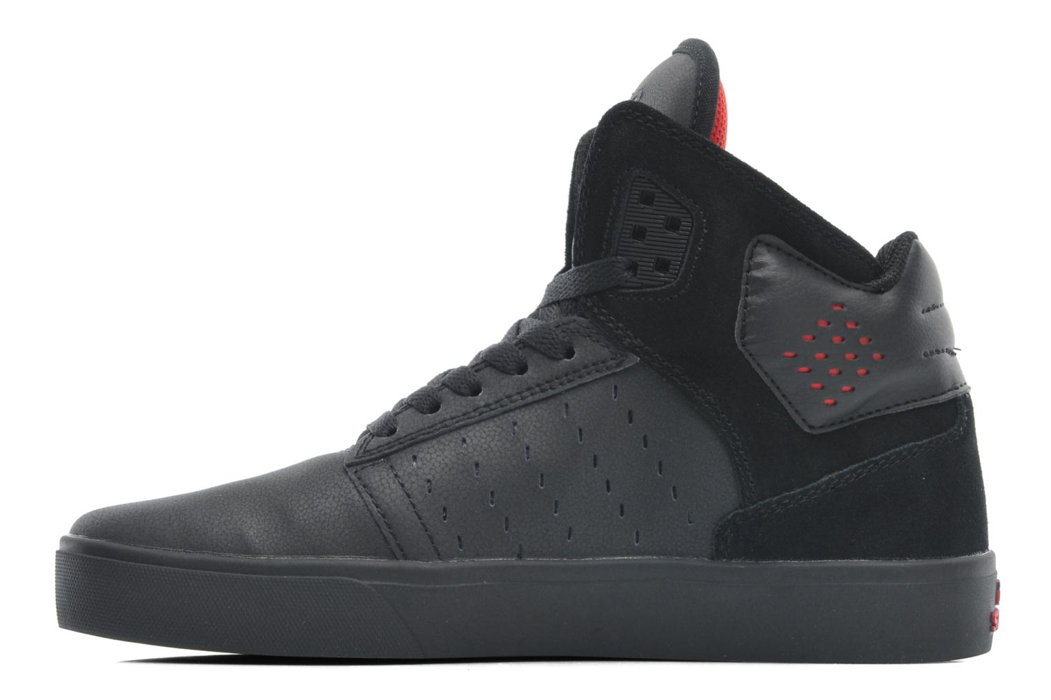 Baskets Supra Atom Noir vue face