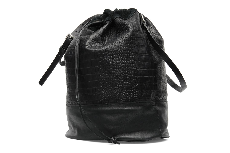 Håndtasker Pieces Daria leather Bucket bag Sort se skoene på