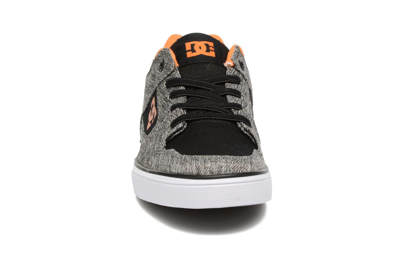 Baskets DC Shoes PURE B Gris vue portées chaussures