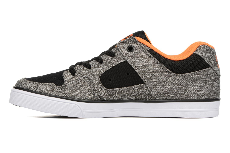 Sneaker DC Shoes PURE B grau ansicht von vorne