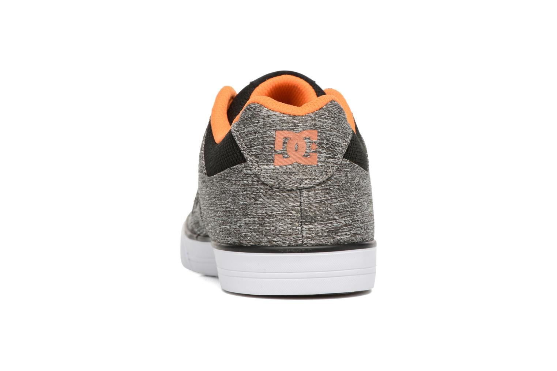 Sneaker DC Shoes PURE B grau ansicht von rechts