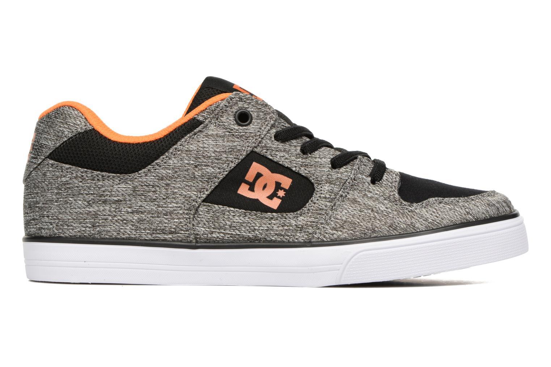 Sneaker DC Shoes PURE B grau ansicht von hinten