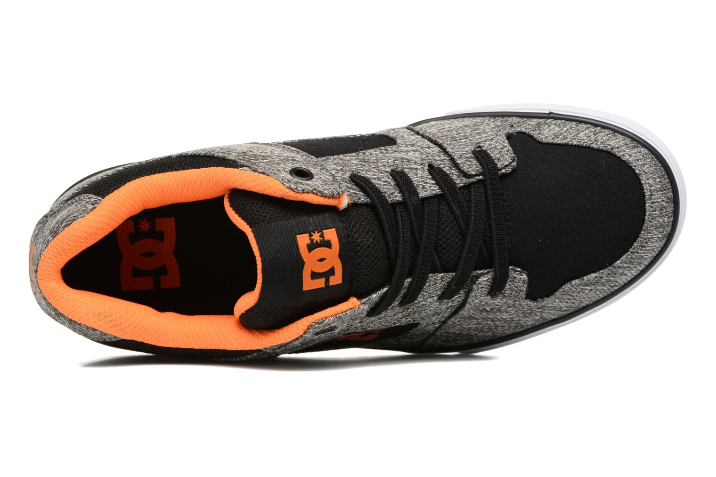 Sneaker DC Shoes PURE B grau ansicht von links