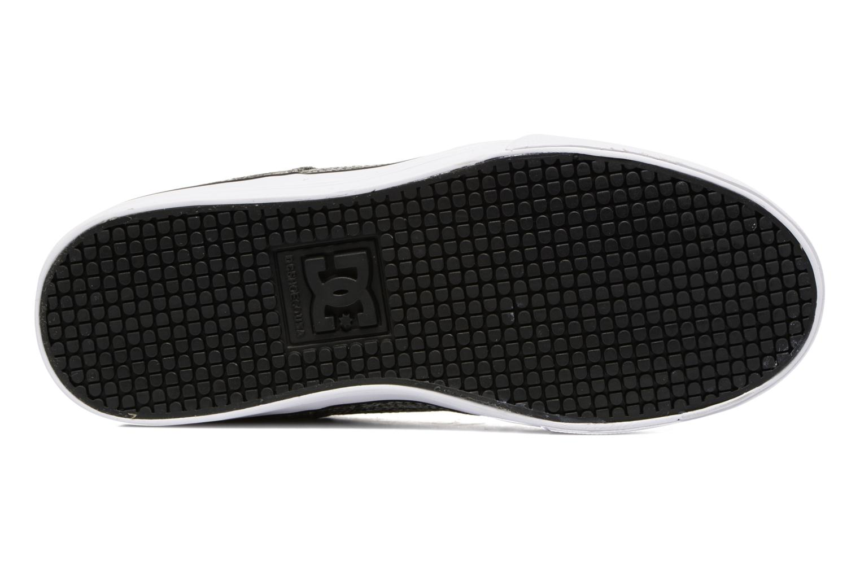 Sneaker DC Shoes PURE B grau ansicht von oben