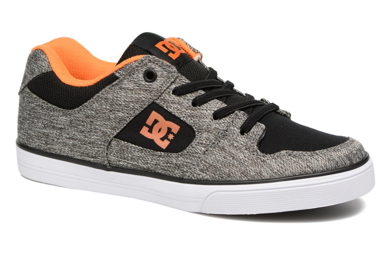 Baskets DC Shoes PURE B Gris vue détail/paire