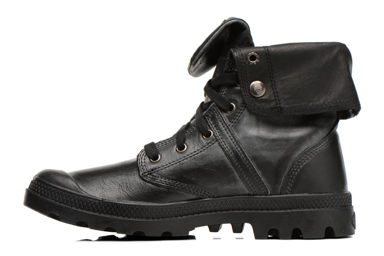 Ankle boots Palladium Pallabrousse Baggy L2 U Black front view