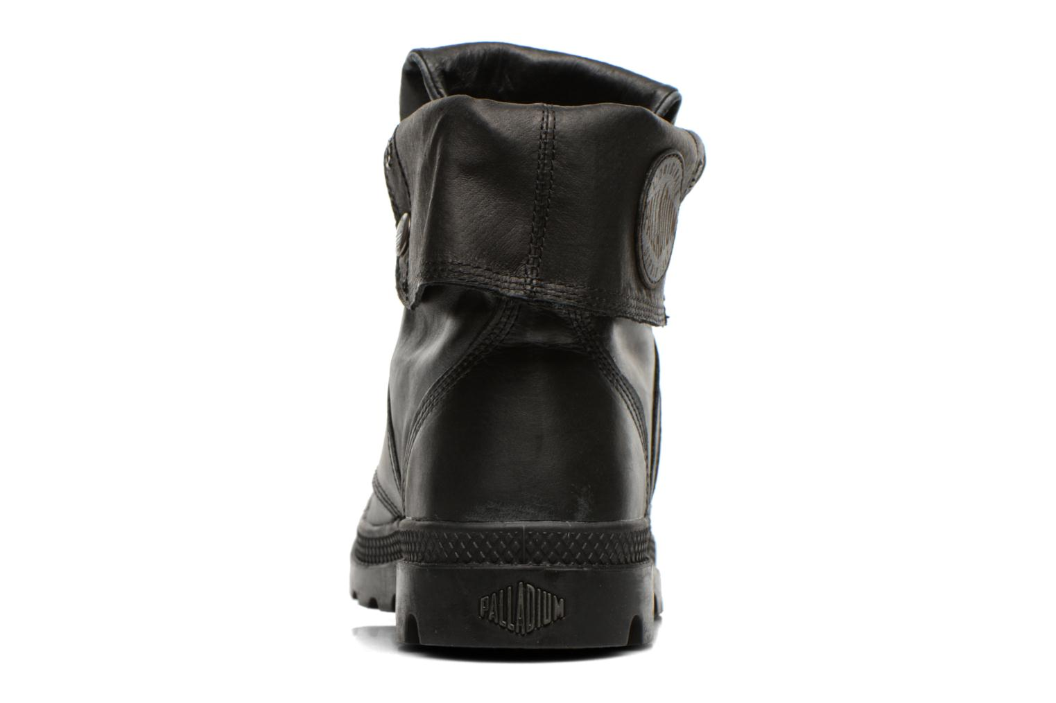 Ankle boots Palladium Pallabrousse Baggy L2 U Black view from the right