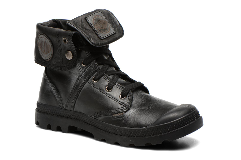Ankle boots Palladium Pallabrousse Baggy L2 U Black detailed view/ Pair view