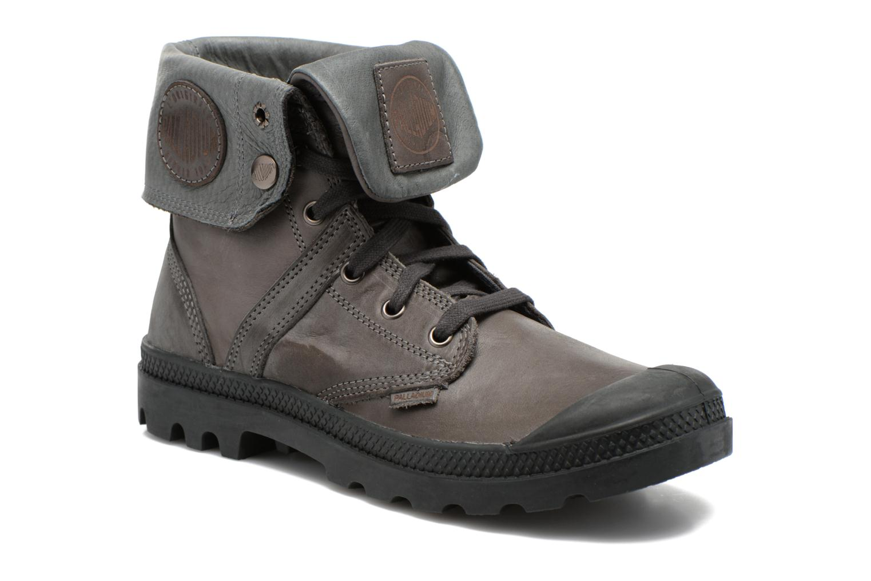 Bottines et boots Palladium Pallabrousse Baggy L2 U Noir vue 3/4