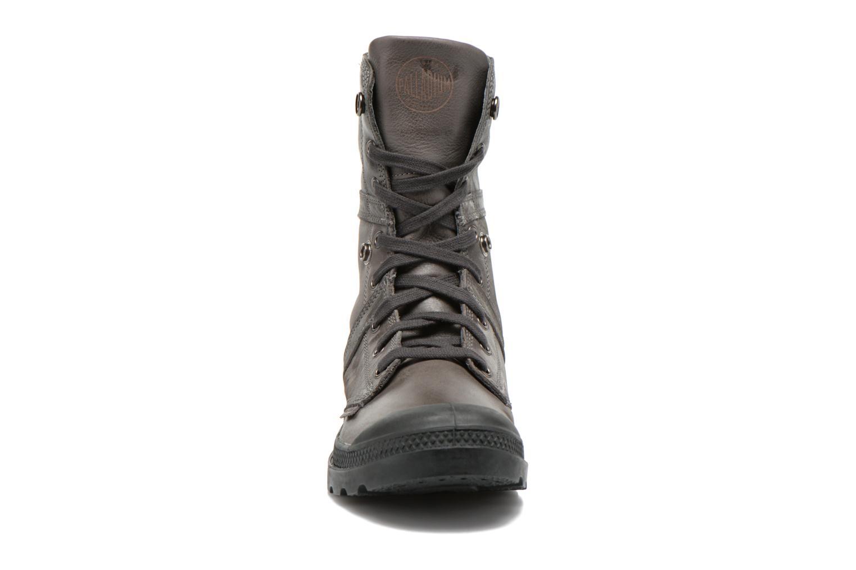 Bottines et boots Palladium Pallabrousse Baggy L2 U Noir vue portées chaussures