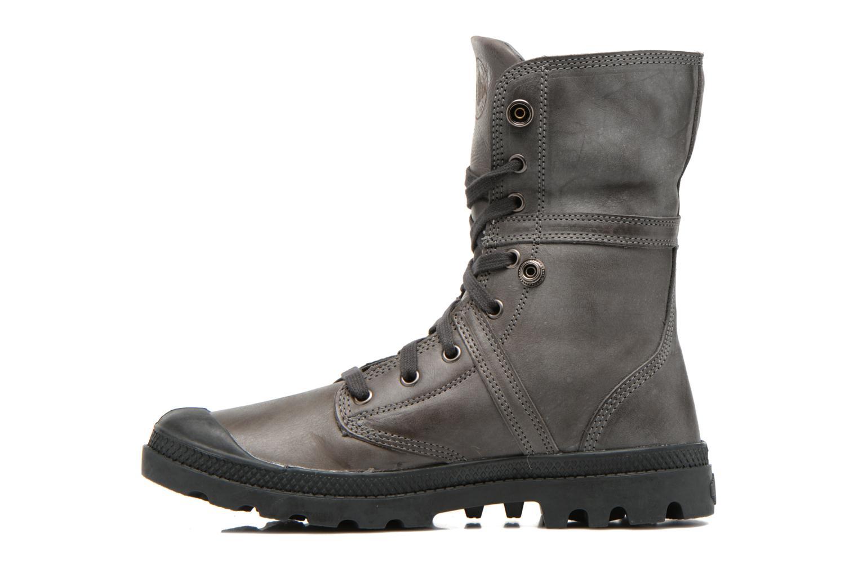 Bottines et boots Palladium Pallabrousse Baggy L2 U Noir vue face