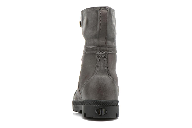 Bottines et boots Palladium Pallabrousse Baggy L2 U Noir vue droite