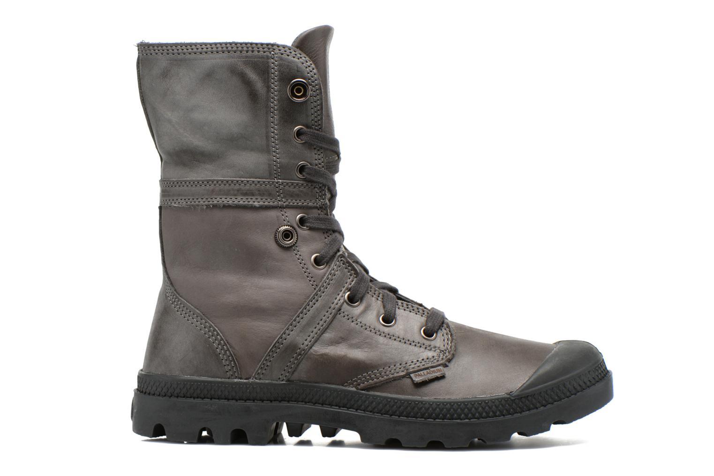 Bottines et boots Palladium Pallabrousse Baggy L2 U Noir vue derrière