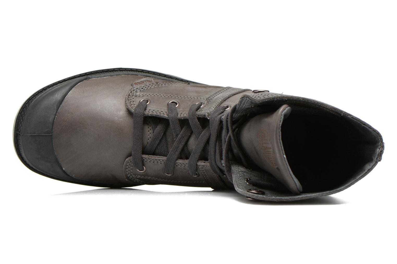 Bottines et boots Palladium Pallabrousse Baggy L2 U Noir vue gauche