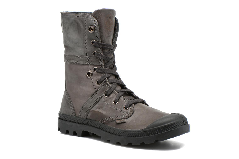 Bottines et boots Palladium Pallabrousse Baggy L2 U Noir vue détail/paire